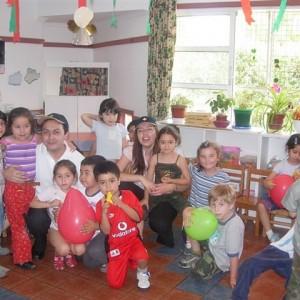 Jardín infantil Los Lagos. Navidad año 2006