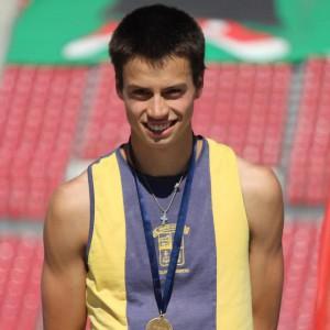 Sergio Germain Ronco. Seleccionado Nacional de Atletismo